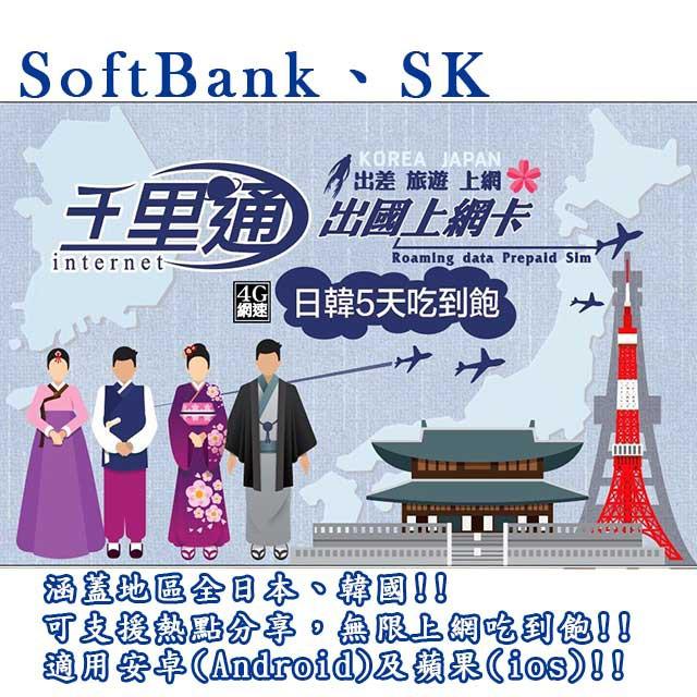日本上網卡 韓國上網卡 日本網卡 韓國網卡 無限上網吃到飽 不降速 上網卡 含稅 開發票 有現貨