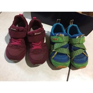 二手carrot日本機能童鞋,布鞋-16、17
