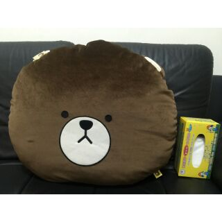 熊大靠枕躺枕