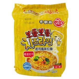 韓國不倒翁(OTTOGI)起司風味拉麵/海鮮風味烏龍拉麵/金拉麵/
