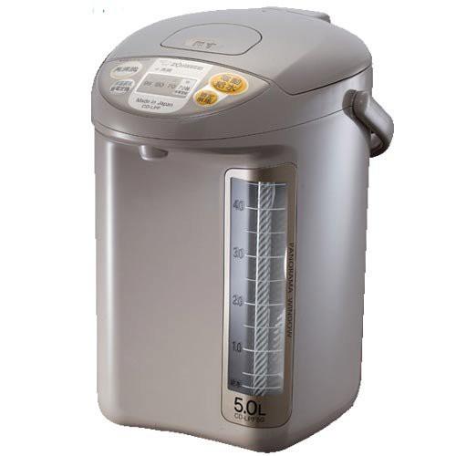 【台灣公司貨】ZOJIRUSHI 象印 寬廣視窗微電腦電動熱水瓶 深灰色 5L CD-LPF50-TL