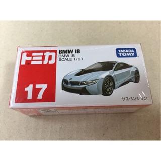 最 日版TAKARA TOMY TOMICA 小汽車No 17 BMW i8