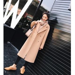 羊毛長版大衣