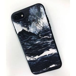 日本山浪花蘋果手機殼iphone7硅膠軟套iphone8浮世繪