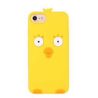 韓國可愛小雞小熊iphone7/8手機殼 6s plus矽膠套蘋果X全包軟殼