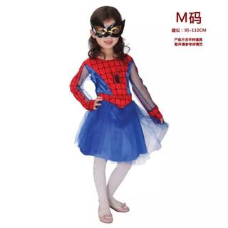 萬聖節。派對衣服。蜘蛛人