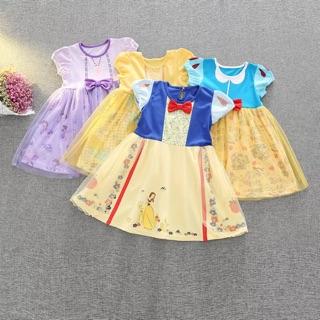 童話公主 白雪 美女與野獸 貝兒 連身裙 紗裙 造型服