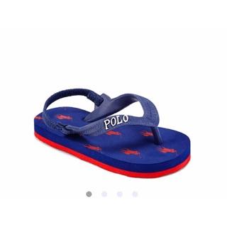 全新POLO男童夾腳拖鞋usa4(10cm)