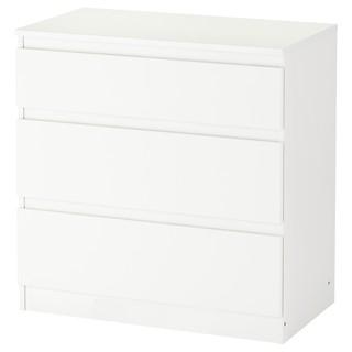 (含運) IKEA KULLEN 抽屜櫃/3抽, 白色