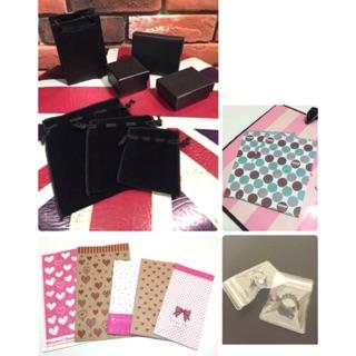 ➕加價購/湊免運 禮品包裝盒/小提袋/絨布束口袋/夾鏈袋/小紙袋/牛皮紙袋 送禮包裝