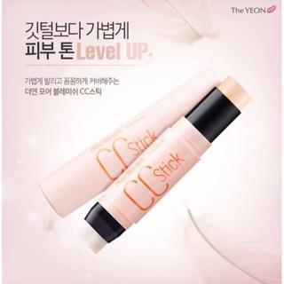 韓國THE YEON粉色毛孔隱形CC棒