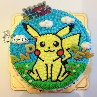 造型蛋糕 生日蛋糕 皮卡丘