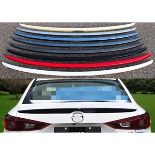 Mazda3四門類原廠專用壓尾 尾翼 改裝 帥氣 流線