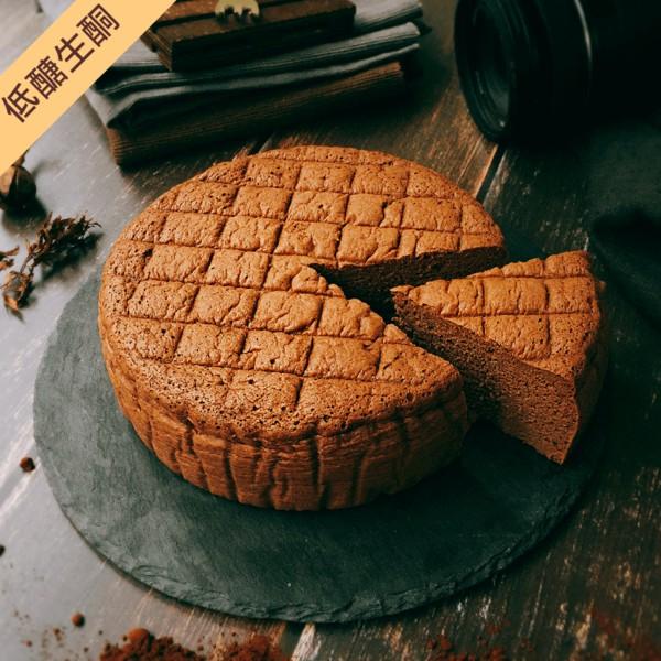 手工現做【低醣生酮】低醣巧克力輕乳酪蛋糕 #低醣#生酮#無麩質#無糖#杏仁粉#椰子粉