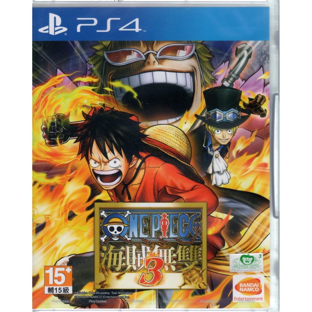 現貨中 PS4遊戲 航海王 海賊無雙 3 One Piece 中文亞版 【魔力電玩】