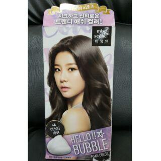 韓國美強生泡泡染 %236A