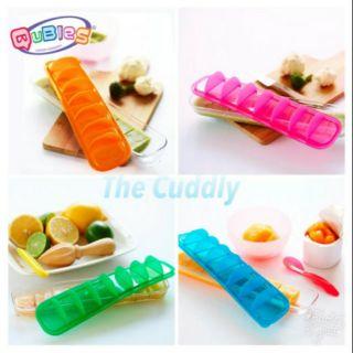(8成新)澳洲Qubies副食品儲存盒/冰磚盒/製冰盒 寶寶副食品必備
