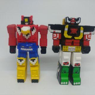 絕版二手速食店玩具日本麥當勞 動物戰隊
