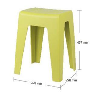 北歐輕便椅 (三色)可疊好收納 -耐重100KG