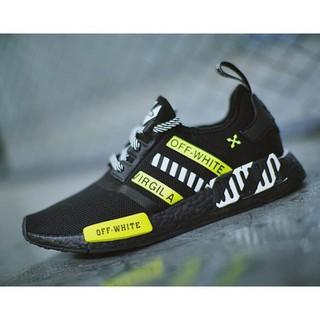 OFF-WHITE x Adidas NMD R_1 Boost 慢跑鞋  BA7787
