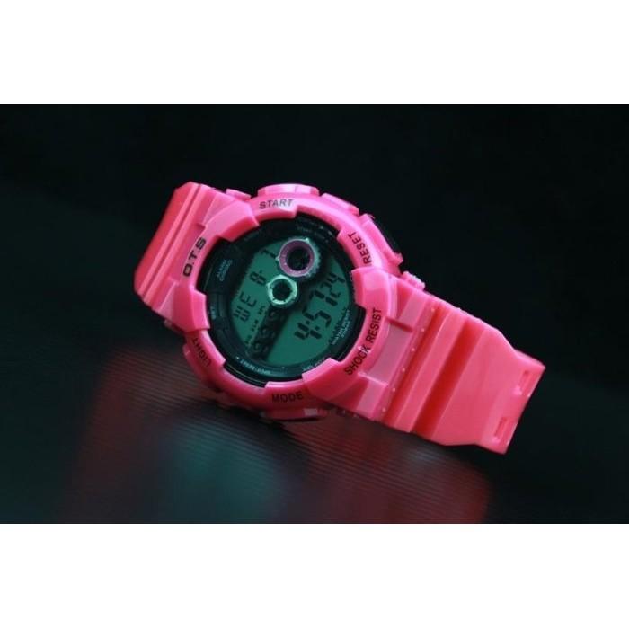 OTS女生適用非CASIO G-shock 1113~mudman款式越野風格,多功能造型冷光防水電子錶