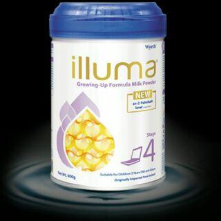 啟賦 ILLUMA Stage 4 Wyeth惠氏啟賦4號 學兒成長配方奶粉適合3歲及以上兒童 900克愛爾蘭原裝進口