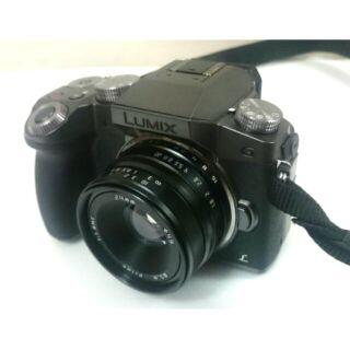 Panasonic Lumix G7+24mm F1.8 手動定焦鏡頭