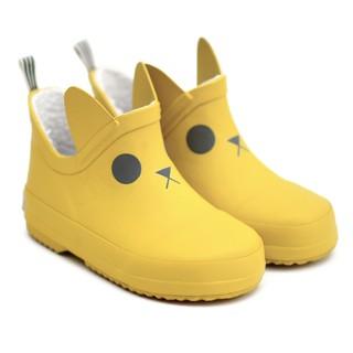 法國BOXBO雨靴-遊樂園(貓咪黃)