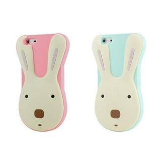 iPhone5s 5 4s 4 進口 韓國可愛兔 手機殼 le Sucre 法國兔 D025F2