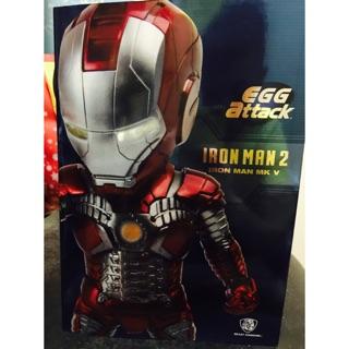 正版 Egg attack IRON MAN 2 鋼鐵人 MK V
