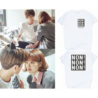 [預購 4/25結單] 韓劇大力女子都奉順 男主角朴炯植同款短袖t恤夏季寬鬆情侶裝