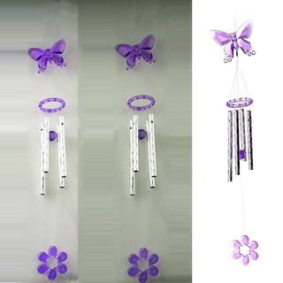 風鈴塑膠水晶裝飾4花園金屬風車