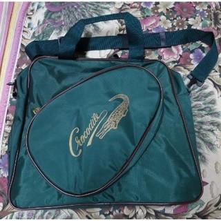全新 crocodile 鱷魚牌 綠色手提包 包包