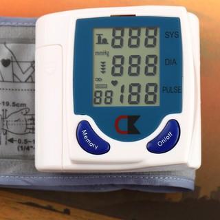 現貨Digital LCD Wrist Blood Pressure Monitor Rate Pulse Meter
