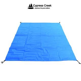 伊凱文戶外 賽普勒斯Cypress Creek 強化PE防潮地墊265×265CM CC-M003