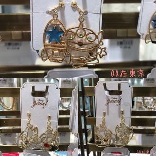 QQ日本代購 Disney 迪士尼商店 奇奇蒂蒂 三眼怪 米奇 米妮 耳夾