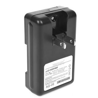 YIBOYUAN充電器LCD萬能充電器液晶電量顯示USB手機電池電板座充