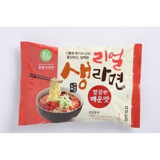 韓國李家 超夠味辣牛肉湯麵130g 辣炒魷魚乾麵153g