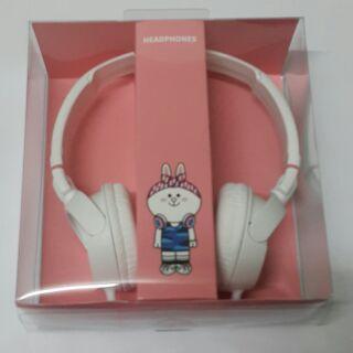 LINE 兔兔頭戴式耳機