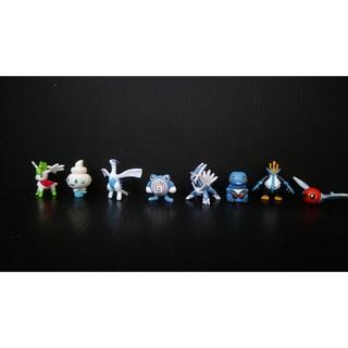 公仔盒玩 飛行謝米/洛奇亞/不良蛙/帝王拿波 神奇寶貝/精靈寶可夢