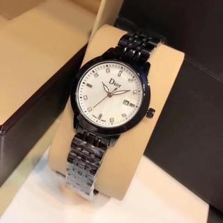 正品代購 dior 迪奧 精緻 優雅 女士腕錶 百搭 手錶 石英錶 時尚女錶