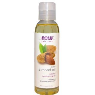 Now foods solutions 甜杏仁油 4oz 118ml 護膚 sweet almond oil