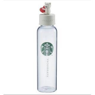 星巴克愛戀bearista玻璃水瓶