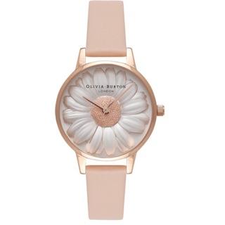 限時特價3/31收單Olivia Burton 立體小雛菊 30mm小錶