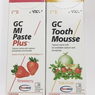 GC Tooth Mousse 牙齒乳膏