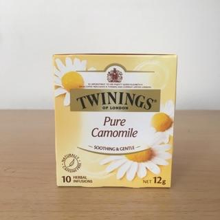 「預購含運」英國Twinings 唐寧茶10包入-Pure Camomile 洋甘菊花茶