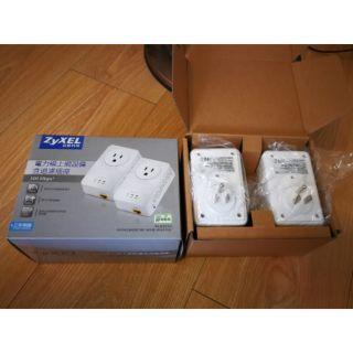 Zyxel 合勤 500Mbps電力線上網設備PLA4211