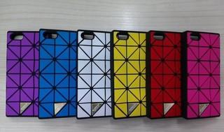 【MOACC】三宅一生 BAOBAO 手機殼 iPhone 6S / 6S PLUS 軟殼 矽膠 時尚 格紋 此款無鏈子