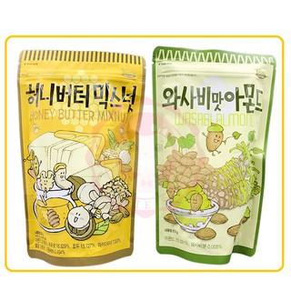 新貨到 ❤ 【韓國 seed&nuts】蜂蜜奶油杏仁果/芥末杏仁果 180G/包