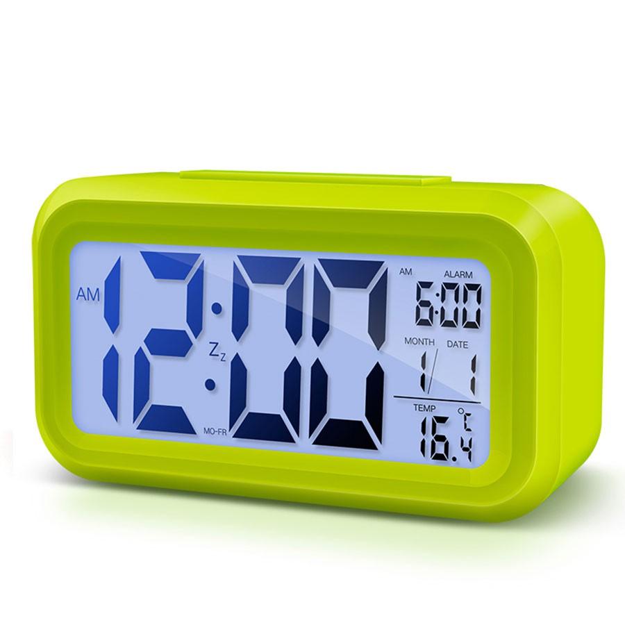 鬧鐘 時鐘 聰明鐘 智能感應 LED 鬧鐘 時鐘 台灣公司附發票 光控 夜光貪睡電子鐘 溫度日曆 聰明鐘 贈品 URS